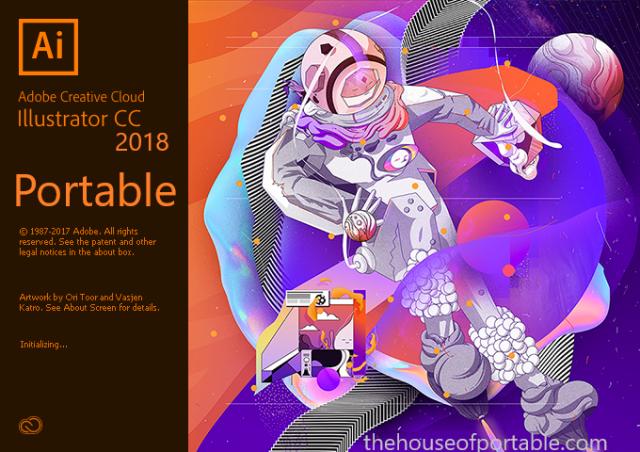 illustrator cc 2018 portable