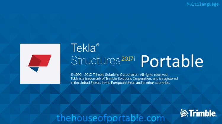 tekla structures 2017i sp1 portable