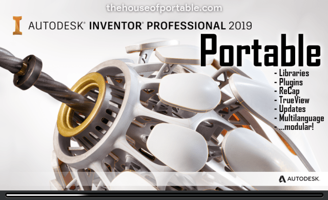 inventor professional 2019 portable