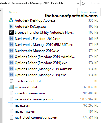 autodesk navisworks manage 2019 portable files