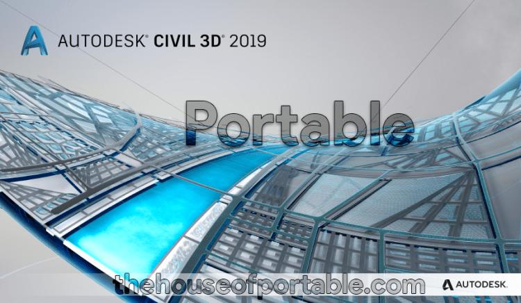 autodesk civil 3d 2019 portable