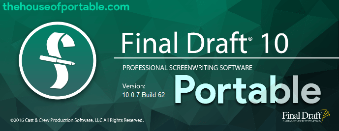 final draft 10.0.7 portable