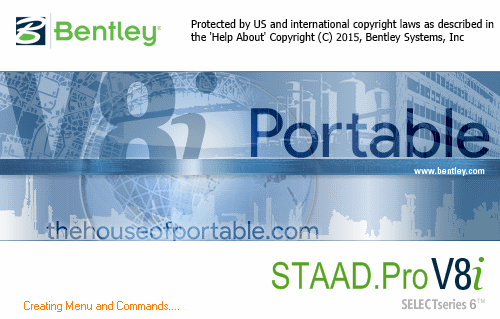 staad pro v8i ss6 portable