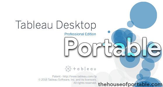 tableau desktop professional 2020 portable