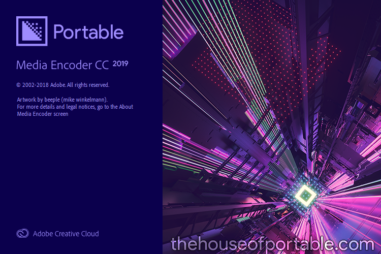 adobe media encoder cc 2019 portable