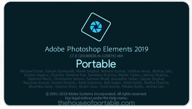 adobe photoshop elements 2019 portable