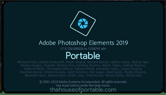 adobe photoshop elements 2019 portable