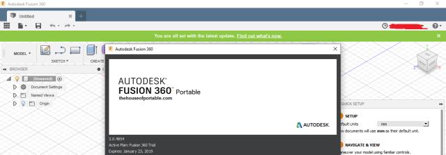 autodesk fusion 360 portable version details