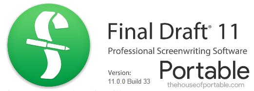 final draft 11 portable