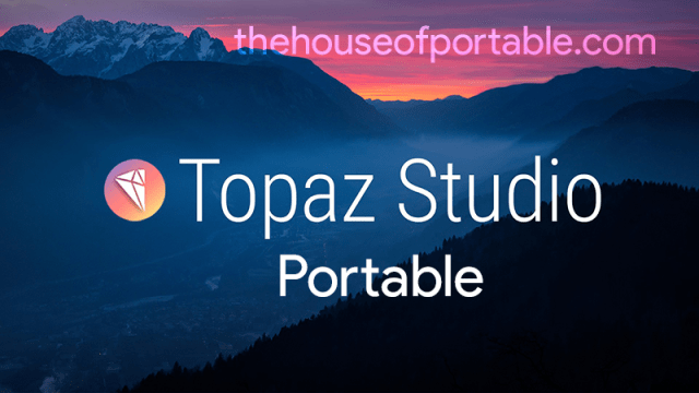 topaz studio portable