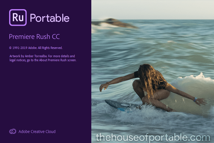 adobe premiere rush cc portable
