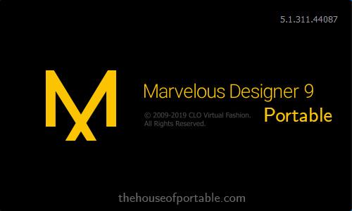 marvelous designer 9 enterprise portable