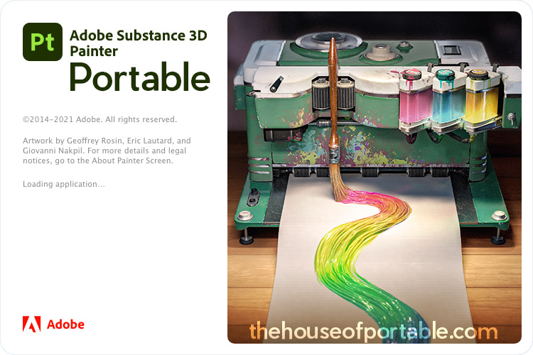 adobe substance 3d painter portable