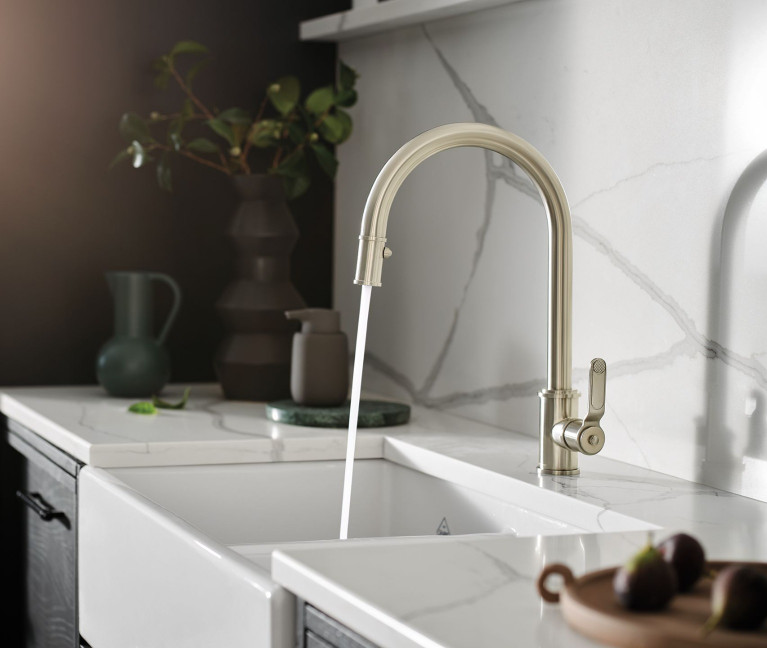 kitchen faucets handcrafted kitchen