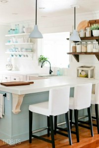 Small Kitchen Design {Beach Cottage} - The House of Silver ...