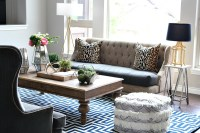 Transitional Living Room - The House of Silver Lining