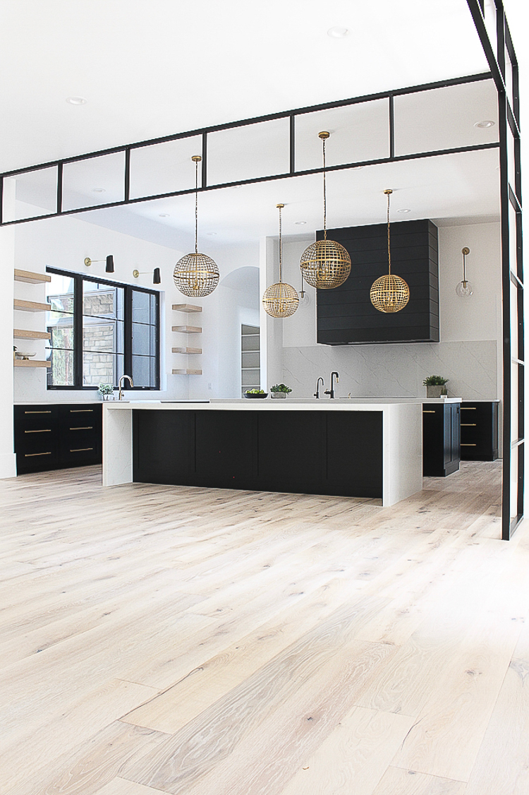 The Forest Modern Our Aged French Oak Hardwood Floors The House Of Silver Lining