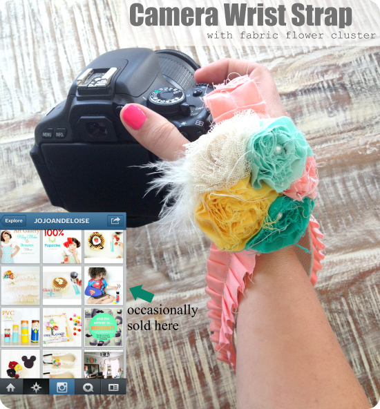 Sew Crafty Kids & Wrist camera strap - the house of smiths