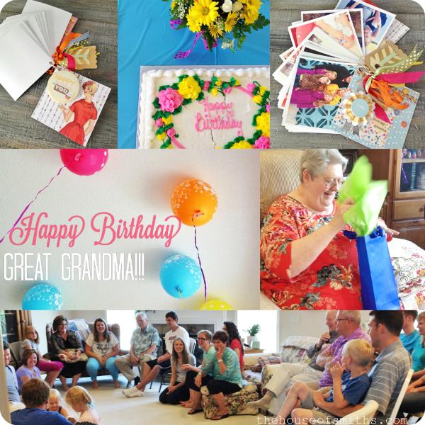 75th birthday celebration - house of smiths
