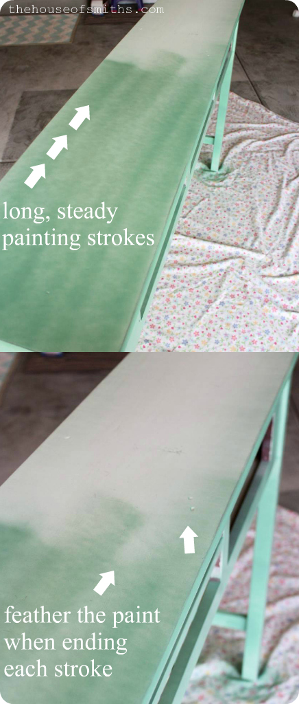 The Best way to Spray Paint Furniture - thehouseofsmiths.com
