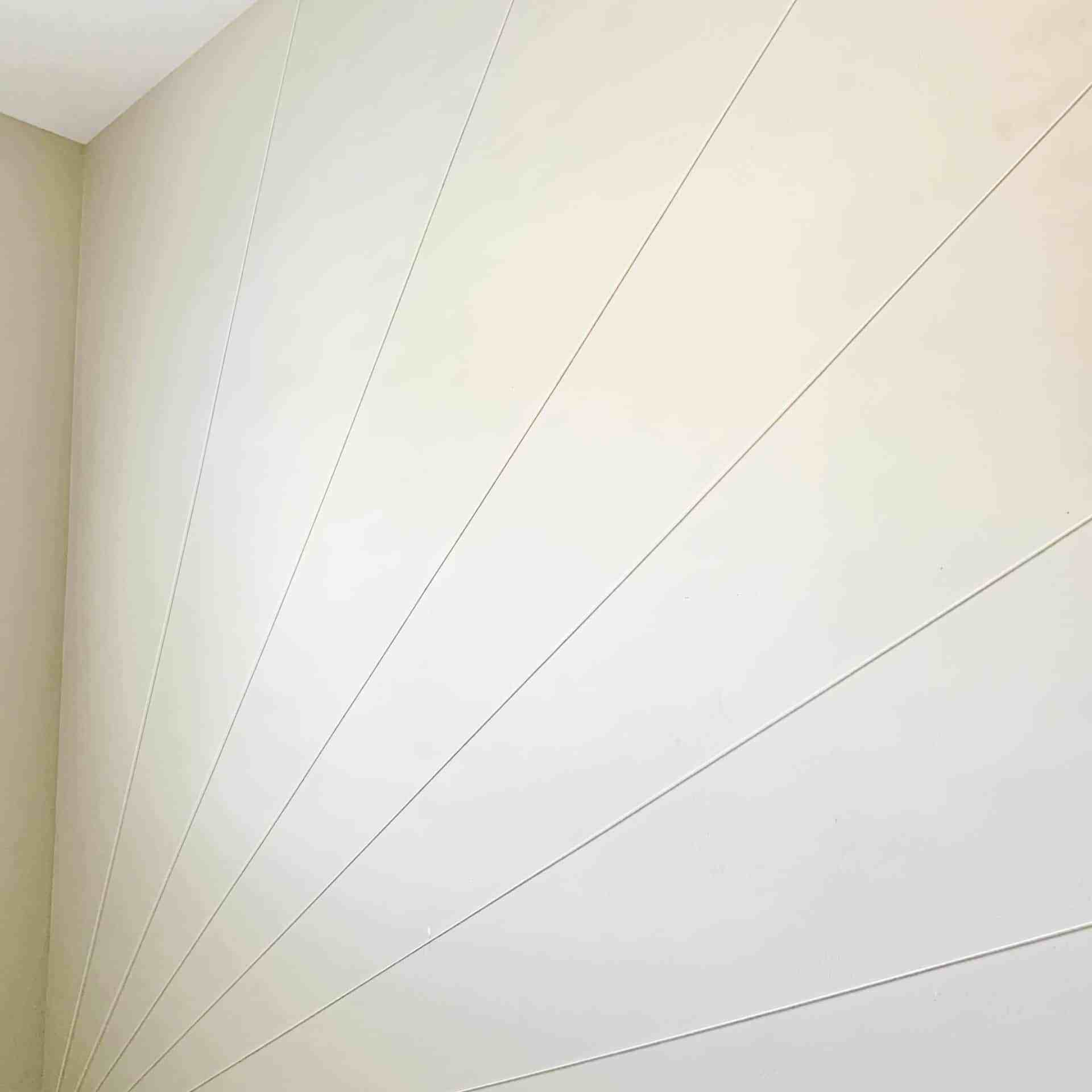DIY sunburst wall - teen bedroom makeover - houseofsmiths