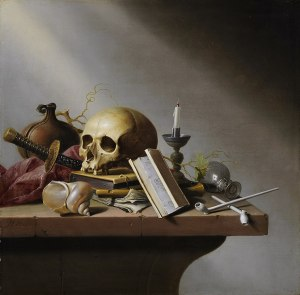 Harmen Steenwijck, Vanitas stilleven, 1640 dutch vanita painting the house of twigs thot art