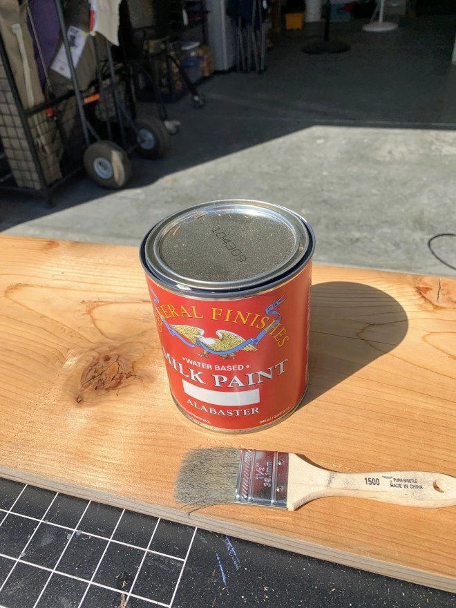 General Finishes Milk Paint . Make Your Own Fall Porch Sign