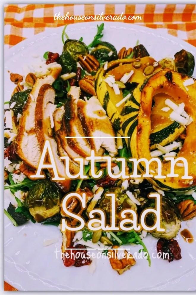 Autumn Salad with Sweet Dumpling Squash