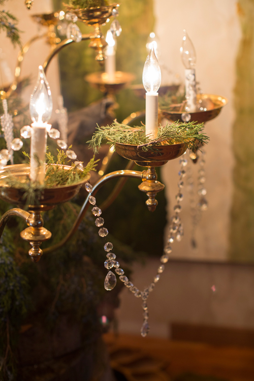 Chandelier Christmas Tree