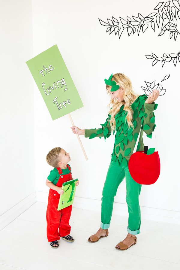 Giving Tree Parent And Child Costumes