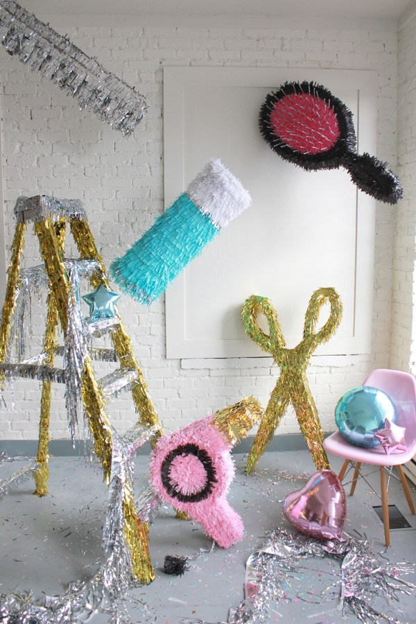 Diy Hair Pinatas - House Lars Built