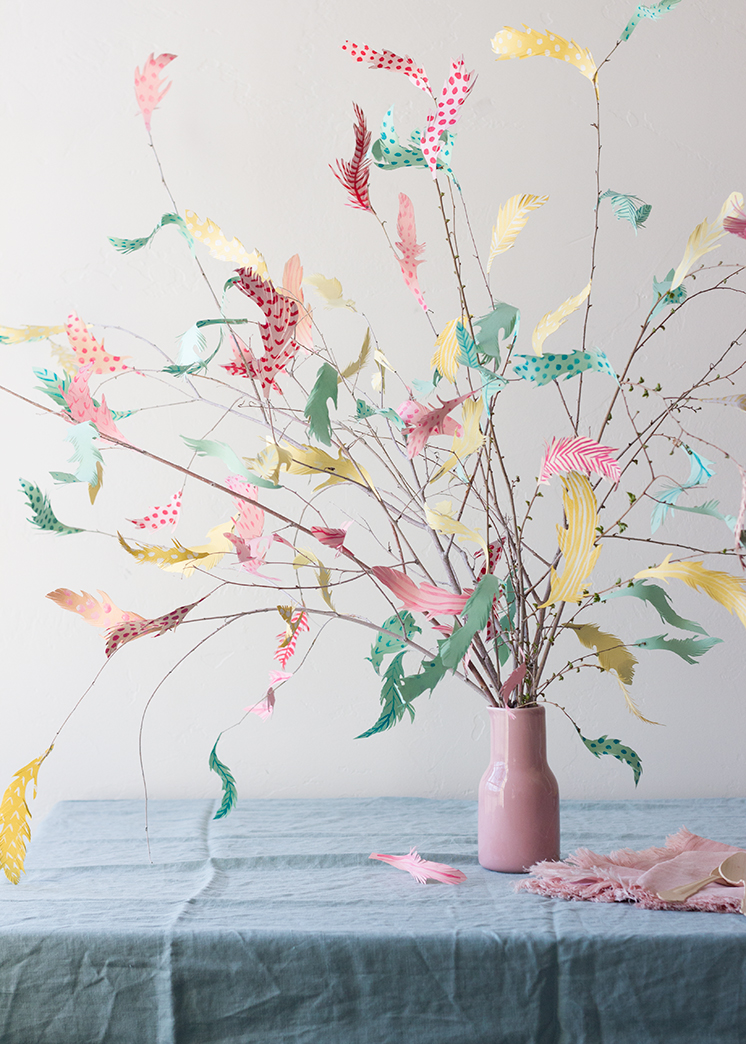 DIY paper Swedish Easter tree  Page 4 of 4  The House