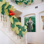 Oversized Holly And Berry Garland Video The House That Lars Built
