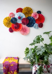 Paper Fan Wall Decorations | Decoration For Home