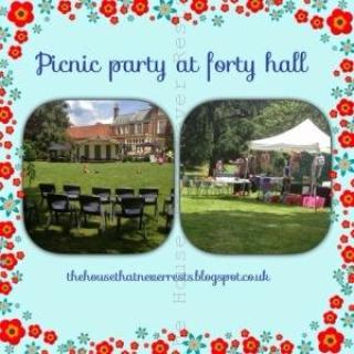 Picnic party at Forty Hall