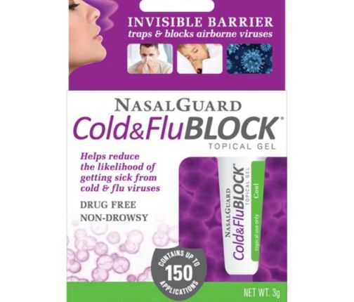 Block That Cold Challenge With NasalGuard