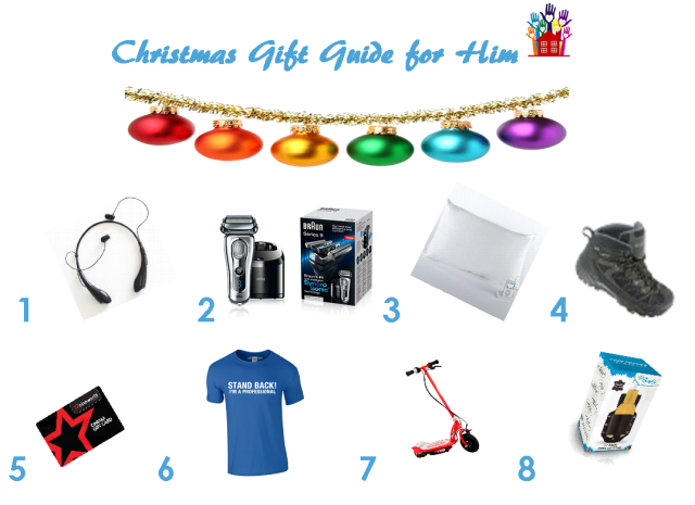 Christmas Gift Guide For Him 2015