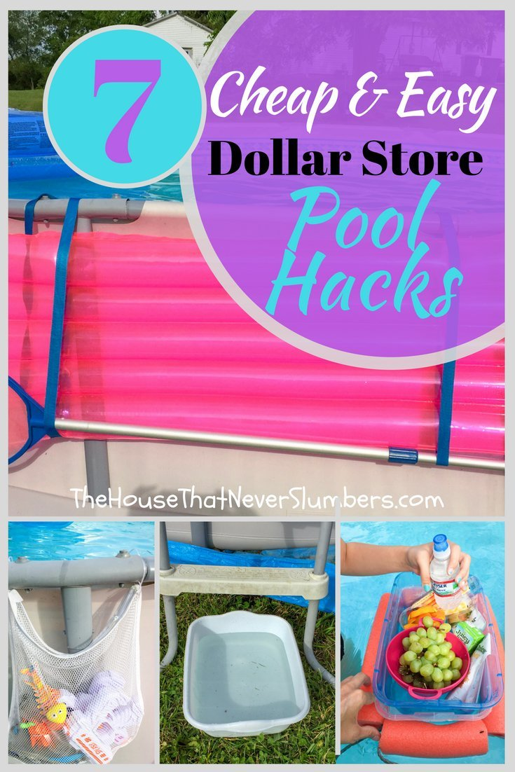Dollar Store Pools : dollar, store, pools, Cheap, Dollar, Store, Hacks, House, Never, Slumbers