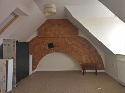 One of the loft rooms