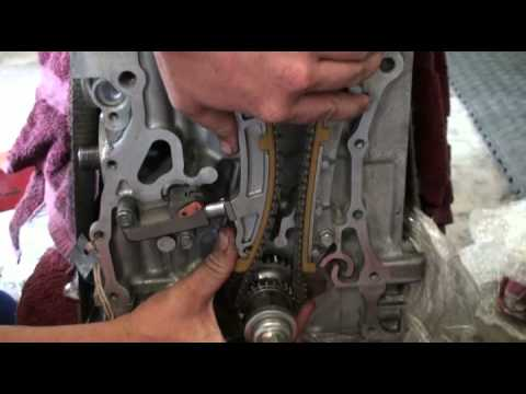timing chain tensioner installation for k24 the how to