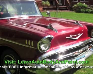 How to do auto body repair and paint with no air compressor the how to do it yourself car painting how to paint your car yourself solutioingenieria Image collections