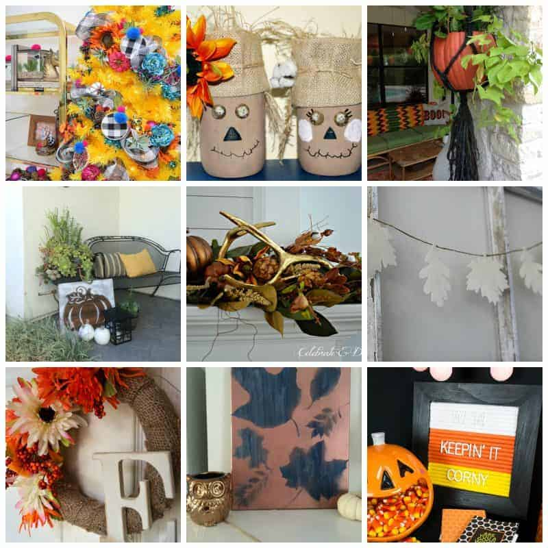 pretty autumn decor ideas