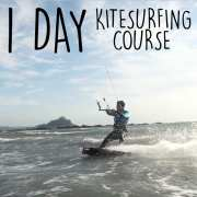 1 day kitesurfing course