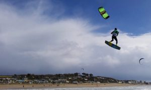 about the kiteboarding school in cornwall