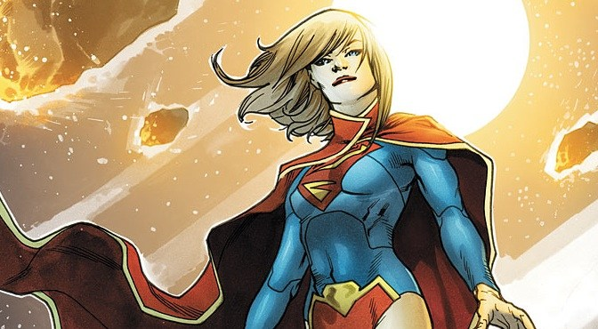 Supergirl: The Mighty Maid of Steel