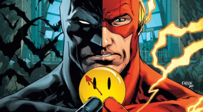 "DC Comics Rebirth Continues :: BATMAN and THE FLASH ""The Button"""