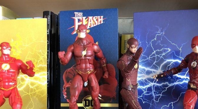 UnBoxing   Mattel's DC Multiverse THE FLASH (1990) Action Figure