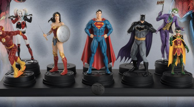 UnBoxing   DC ALL-STARS Figurine Collection