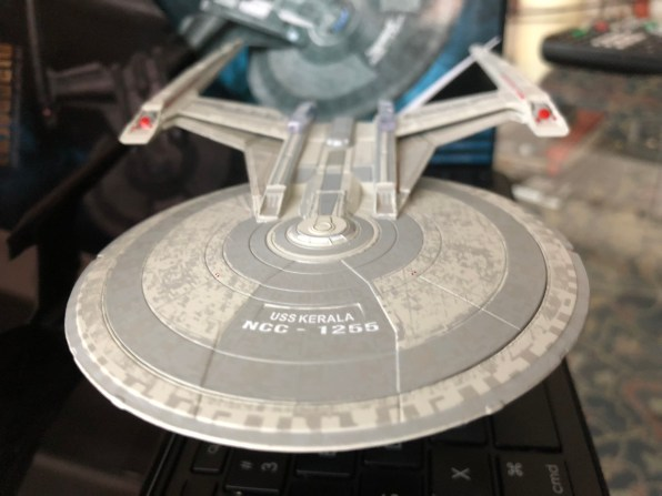 The USS Kerala from Eaglemoss Collections.