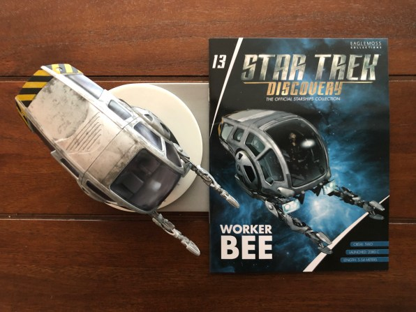 The model includes a detailed magazine with background information on the inner workings of the Worker Bee.